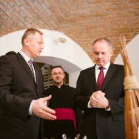 Rozhovor s prezidentom Andrejom Kiskom