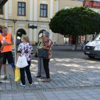pri rozhovore s občanmi