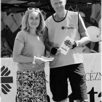 s manželkou na projekte Týždeň charity