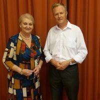 stretnutie s europoslankyňou Annou Záborskou